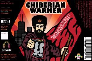 Chiberian Warmer Label Design