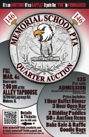 Quarter Auction Poster