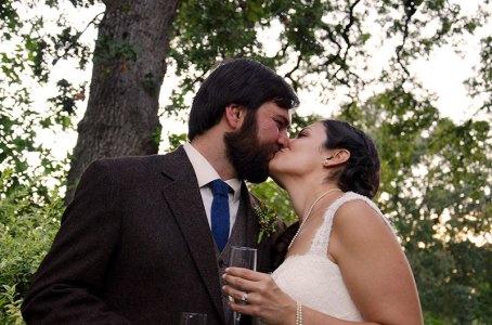wedding-bride-groom-kiss-kmcnickle-photography