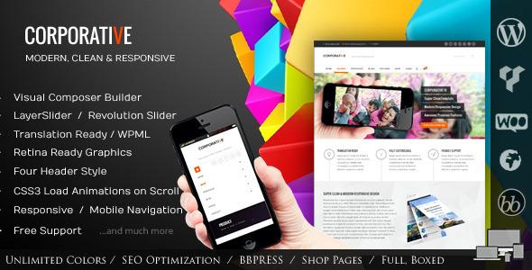 Tema WordPress Corporative