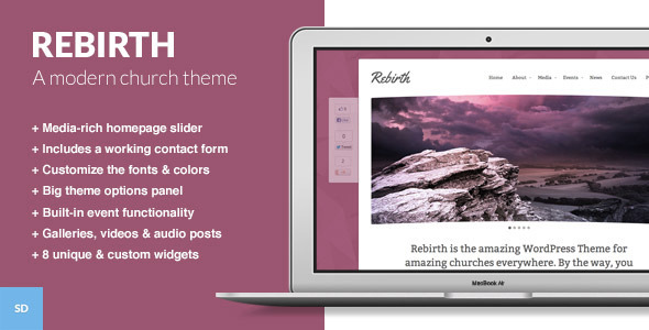 Tema WordPress Rebirth
