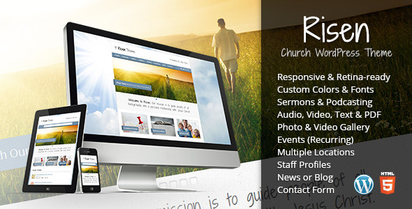 Tema WordPress Risen