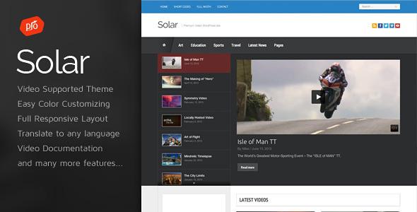 Tema WordPress Solar