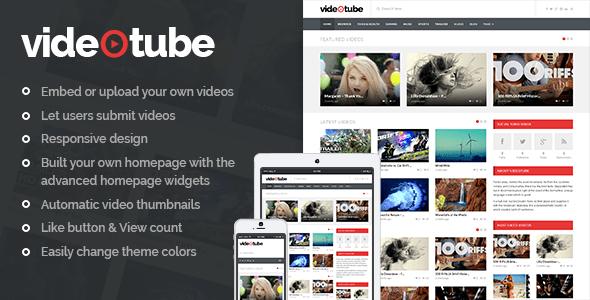 Tema WordPress VideoTube
