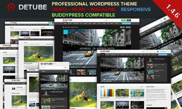 Tema WordPress deTube