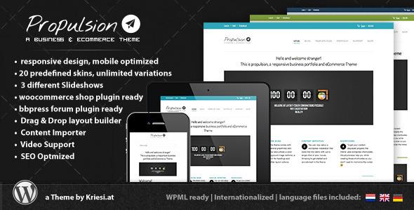 Tema WordPress Propulsion