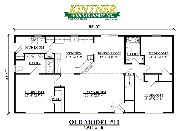 Ranch Modular Home Model