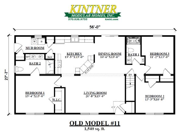 Ranch Modular Home Model