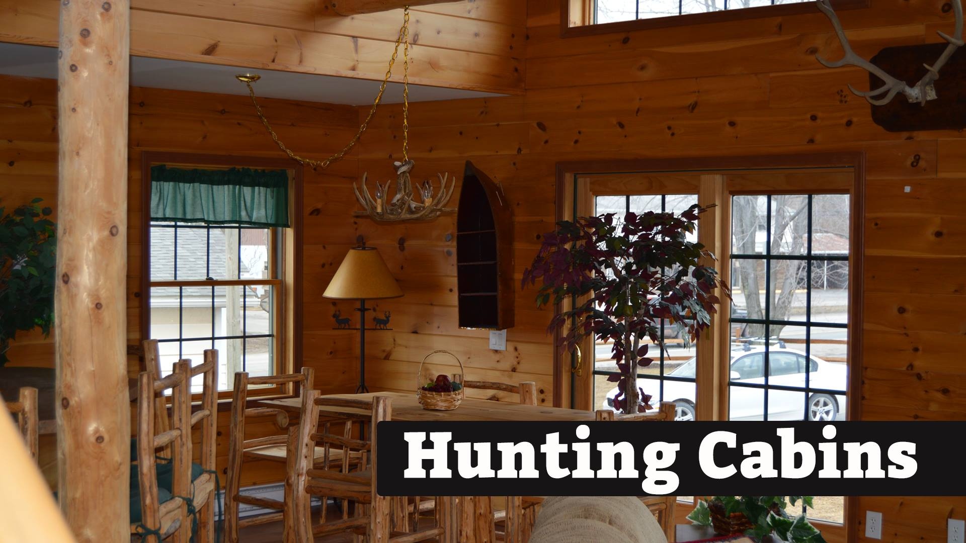 Modular Hunting Cabin by Kintner | Kintner Modular Homes