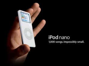 Apple、iPod nano 発表!