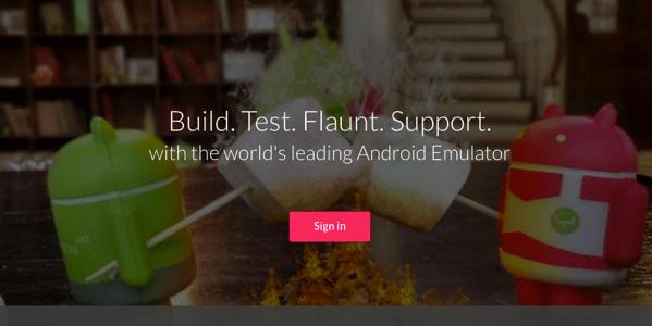 各種PC上で動作する Android エミュレータ「Genymotion」のインストール