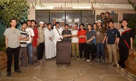 Temus KMJ Mesir bertolak ke Baitullah