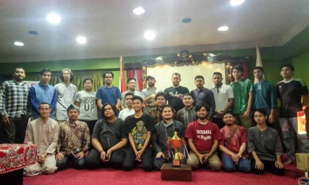 Gapai Juara 2 Voli, Forum Sumatra Adakan Tasyakuran