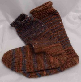 Double-thick sock #8.
