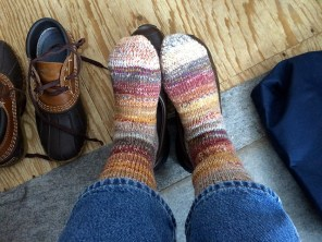 Double-thick socks #3 for me.