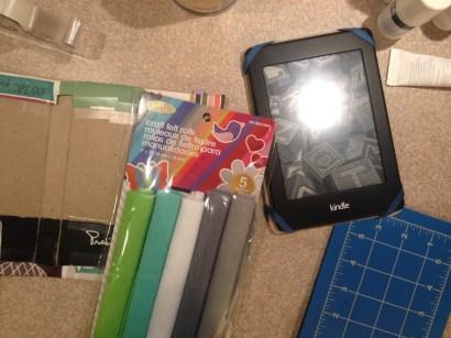 Step 12 - Homemade Kindle Case Tutorial