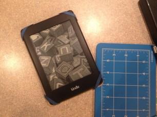 Step 9 - Homemade Kindle Case Tutorial