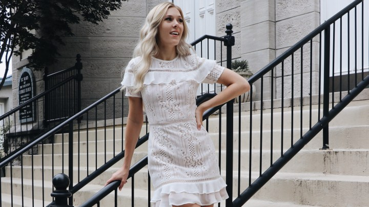 The White Dress (And Jumpsuit) Edit