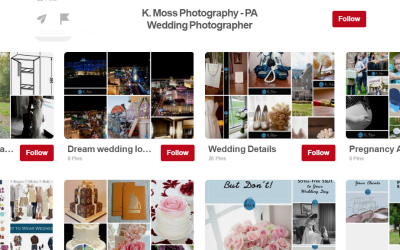 How to Organize Your Wedding Pins on Pinterest