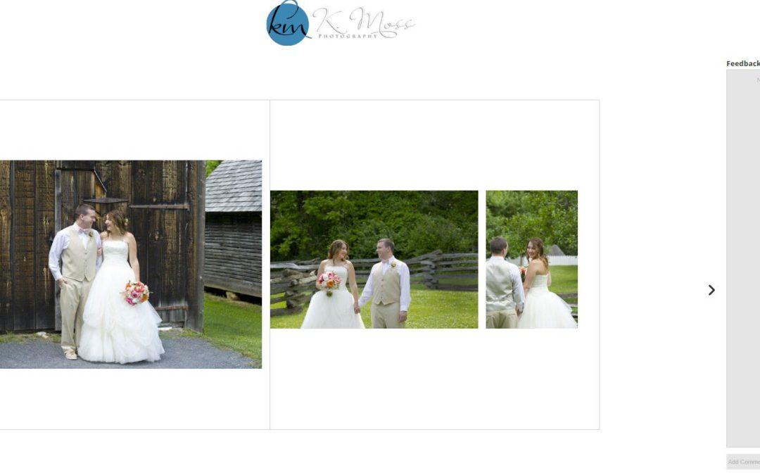 The Wedding Album Process