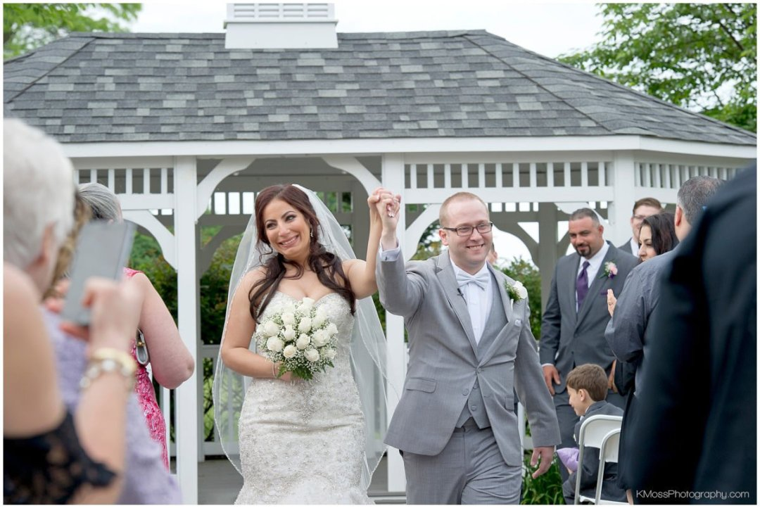 Outdoor Lehigh Valley Wedding Ceremony-Hanover Grand Ballroom-Lehigh Valley Wedding Photographer-Bethlehem PA Wedding Photos | K. Moss Photography