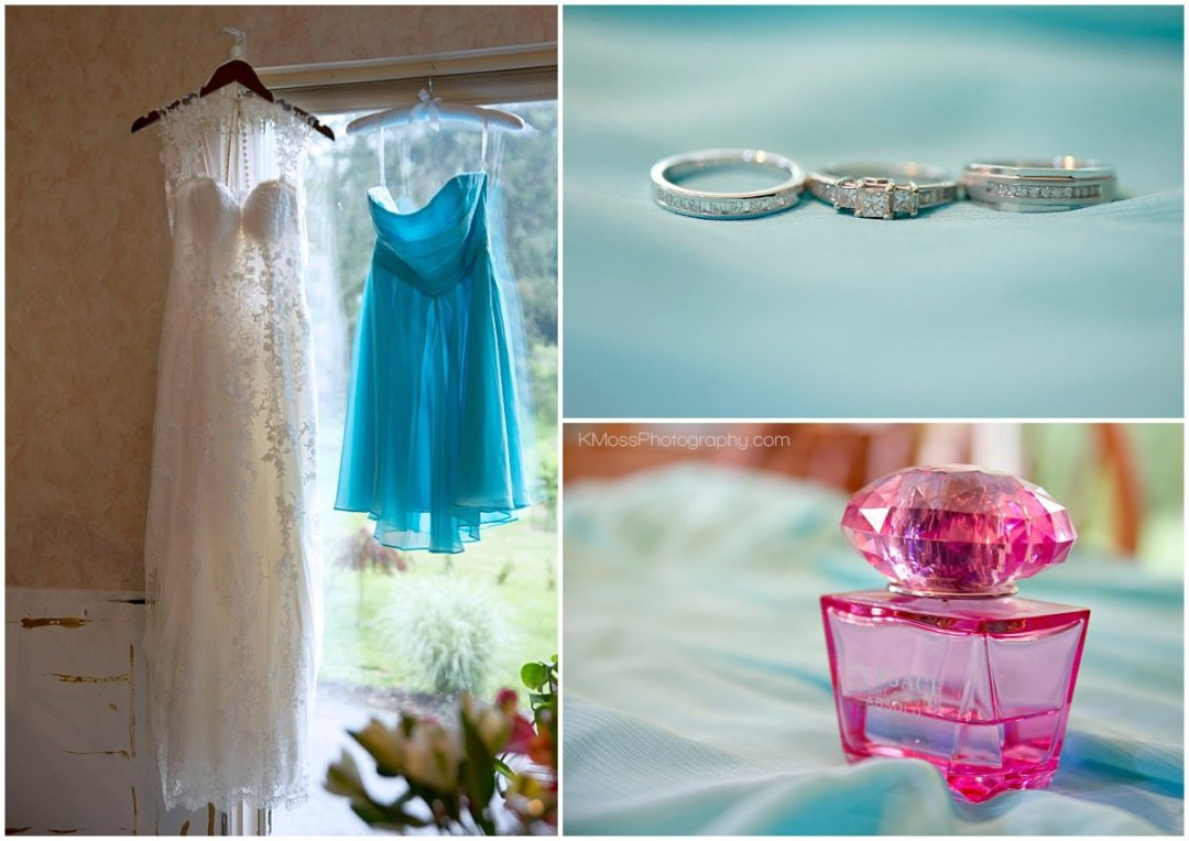 Bridal Gown and accessories | K. Moss Photography
