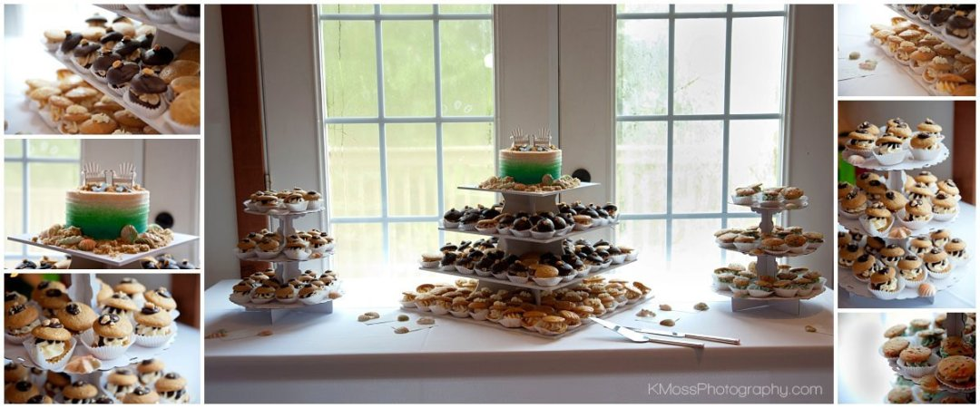 The Barn at Flying Hills Whoopie Pie Wedding Cake| K. Moss Photography