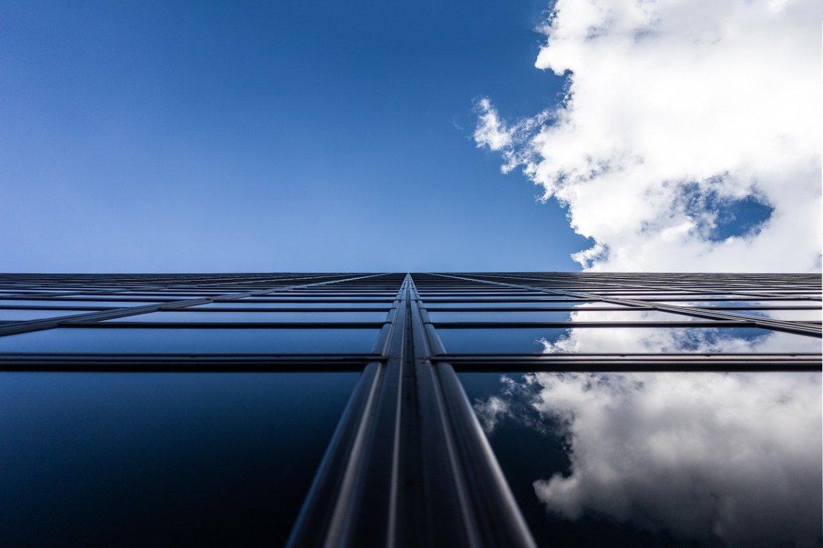 skyscraper, building, vertical
