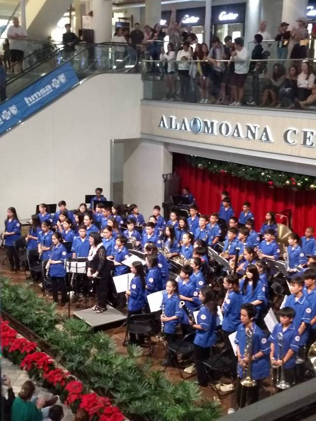KSW Winter Concert at Ala Moana Centerstage
