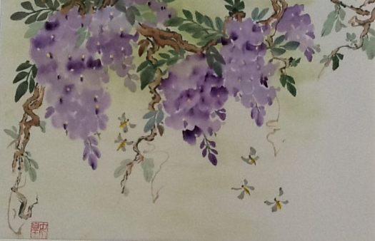 Chinese Watercolors by Regina DeFrancisco