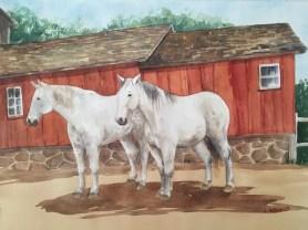 horses-and-barn-linda-arnold-watercolor