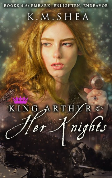 King Arthur and Her Knights Books 4-6