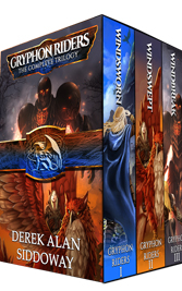 Gryphon Riders Complete Series boxset by Derek Alan Siddoway