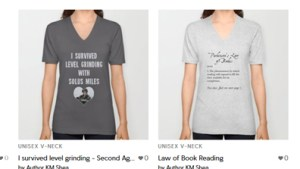 Merchandise t-shirts