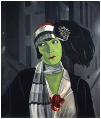Pyke Koch, Portret van Asta Nielsen, 1929, Centraal Museum Utrecht