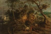 Peter Paul Rubens, De voerlui, Hermitagemuseum, Sint-Petersburg