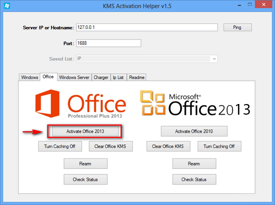 Office 2013 Toolkit & EZ activator