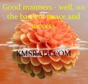 अच्छे संस्कार - सुख, शांति व सफलता का आधार।