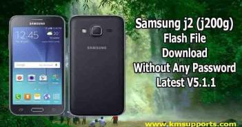 Samsung j2 (j200g) Flash File Download Without Any Password Latest V5.1.1