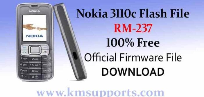 Nokia 3110c (Rm-237) Flash File 100% Free Download