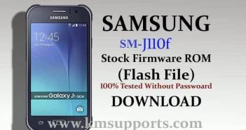 Samsung J110F Flash File (Stock Firmware) Without Password