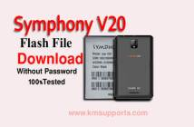 Symphony V20 Flash File MT6570 Download|Without Password|100% Tested