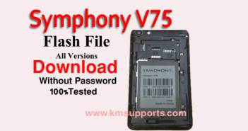 Symphony V75 Flash File Download Without Password|100% Tested