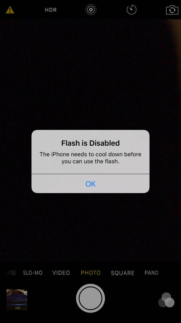 iPhone 6s overheating for some, disabling LED flash