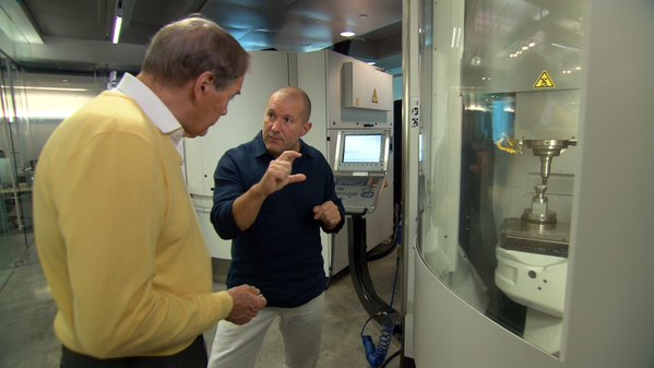 "Jony Ive reveals secret design studio on this week's ""60 Minutes"""