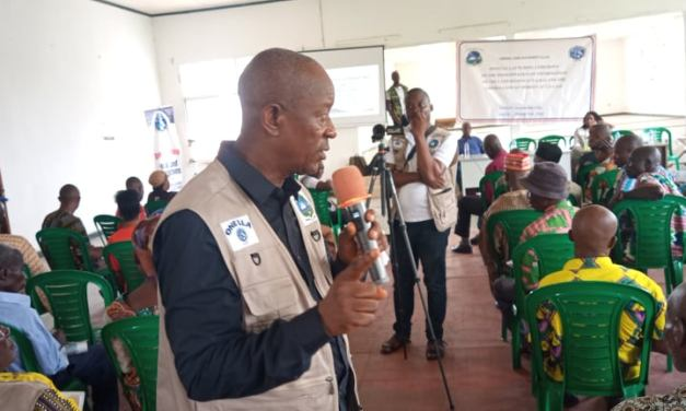LLA Launches Awareness in Sinoe