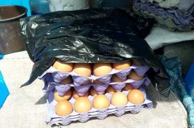 Eggs scarcity hits local market.