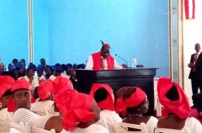 Stop Selling Your Birth Right, Archbishop Isaac Winker Warned Liberians