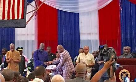 President George Weah Launches Pro Poor Five Years Development Plan,Says With Peace It Will Be Implemented