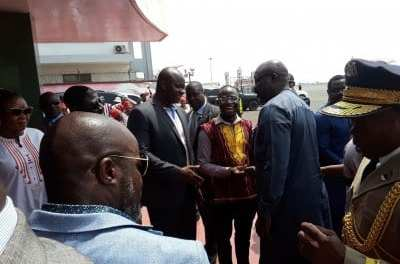 President George Weah Returns To The Country From Israel,Terms His Trip As Very Successful